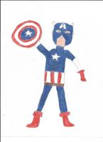 Captain America by vasglorious