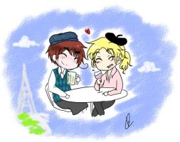 Scotland and France .Request4. by talentless-art