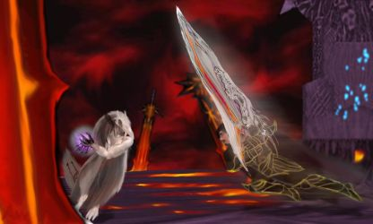 Contest Entry: Anxel Vs Matrix  (Dissidia) by Anxel-MDS