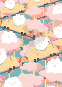 HOT DOG CLOUDS by ELECTRICPOPPERS
