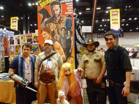 Walking Dead Cosplay Group 5 by Linksliltri4ce