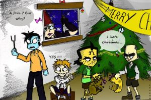 They hate Christmas . by Loukho