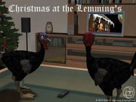 Christmas at the Lemming's by Norski