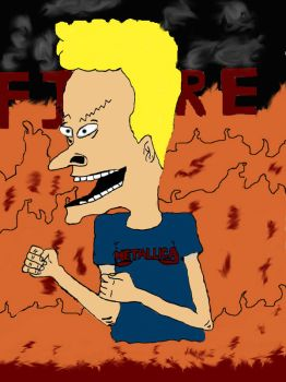 Bevises Fire by Beavis-and-Butthead