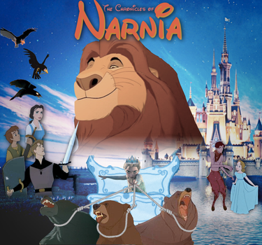 Disney Narnia by M-Mannering