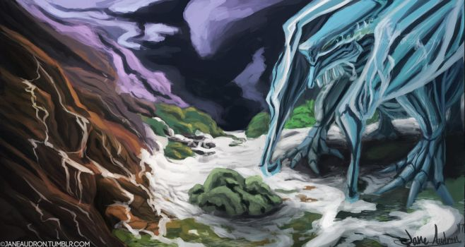 Ice Dragon by Jane2Audron