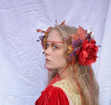 Lady of Fall 10 by RachgracehStock