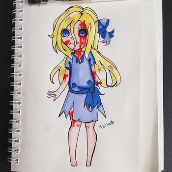 Chibi Lifeless Lucy by LamKarla