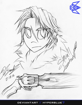 Squall Leonhart VIII by ProjectHyperBlue