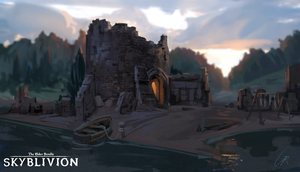 Skyblivion - Fort by RobertoGatto