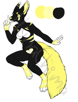 ADOPT: Bumble Bee Cutie by Padded-Paws