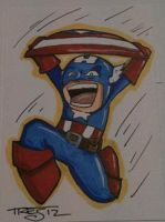LCTC Captain America by birdiebo