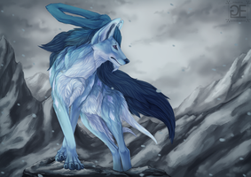Suicune (old) by GoldenEmotions