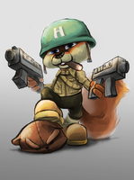 Conker's Bad Fur Day by Foxeaf
