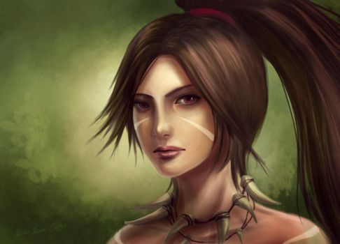 Nidalee Head by Showmeyourmoves