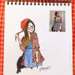 Look of the day 1/100 by Gloewen-Art