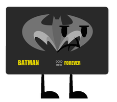 New Object OC - Bat Credit Card by jared33