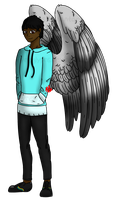 [If I had Wings...] AU - Echo by Fyreglyphs