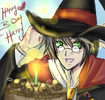 Happy BDay Harry Potter by SiliceB