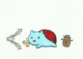 Bravest Warriors Catbug by gmil123