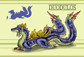 Monster Hunter Concept- Duodulos by Amphario