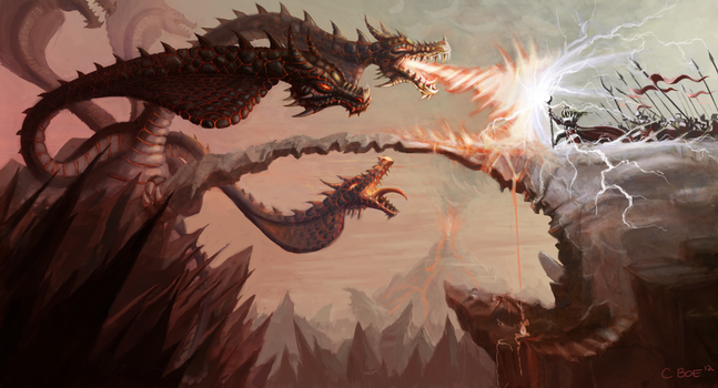 Hydra's Pass by ChristianBoe