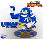 Lunas the Echidna - Sonic Boom by Arkus0