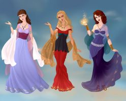 The Women of the Odyssey Part 2 by KellySchot