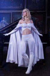 Marvel Comics.X-men Cosplay- Emma Frost (5) by Alex-Willow