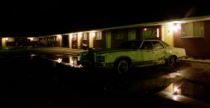 Westerner Motel and Car by JaredPLNormand