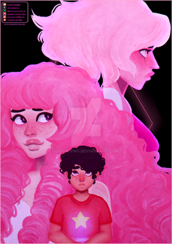 Mom was Pink Diamond [Speedpaint] by H0nk-png