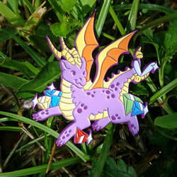 Legend Of Spyro Pin by faundly