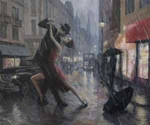 Life is a Dance in The Rain by borda