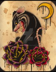 Rat Rose by NewColour