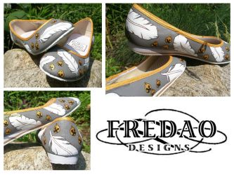 Snowbell Shoes by ChiffonSigh