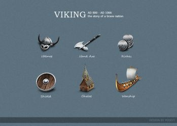 VIKING-ICONS by poseit