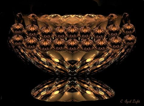Golden Bowl by AprilLight