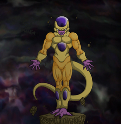 Golden Freezer Dragon Ball Super by S0UlofMANGA