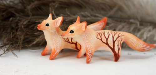 Gentle foxes by hontor