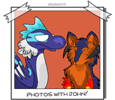 Photos with John -Hell Hound by ellysketchit