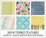 28 Patterned Textures by arapax
