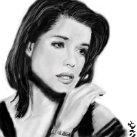 Neve Campbell portrait by vegas9879