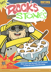 Deep Rock Galactic - cereal by LawlietRiverRose