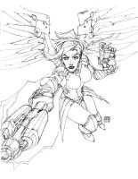 Mercy! by scruffyronin