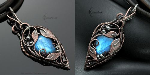 LYNRIA - Copper and Moonstone by LUNARIEEN