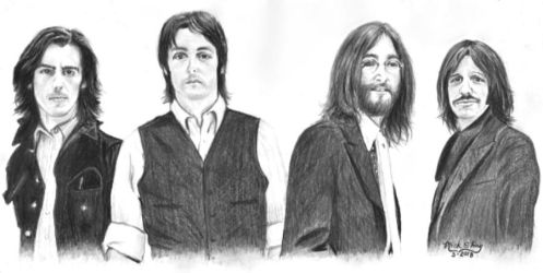 The Beatles by marmicminipark