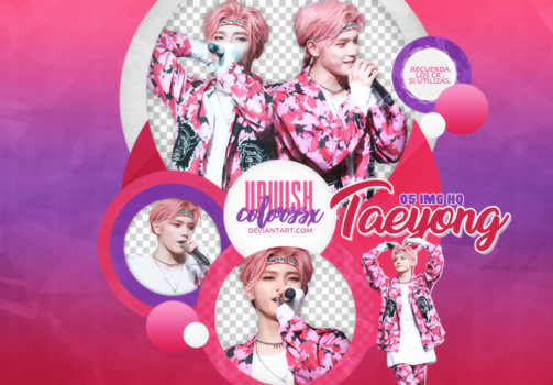 Taeyong  PNG PACK #1/NCT by UpWishColorssx