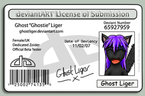 Ghostie's Photo ID by GhostLiger