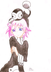 Crona and Ragnarok by aries95a