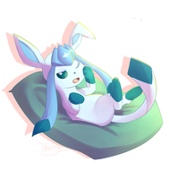 Glaceon commission by ThaIssing